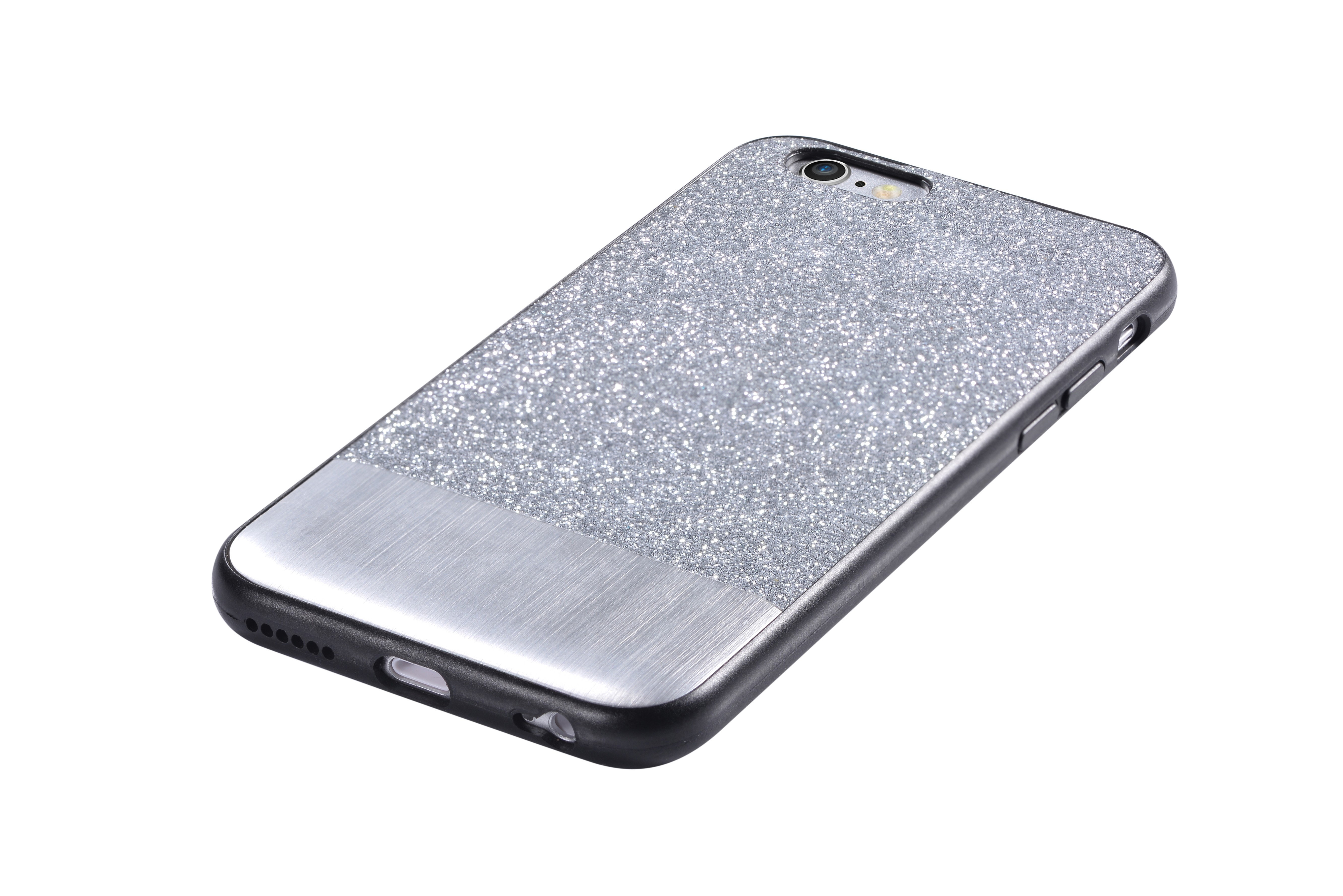 Чехол-накладка Devia Racy для iPhone 6 Plus Silver (6360)