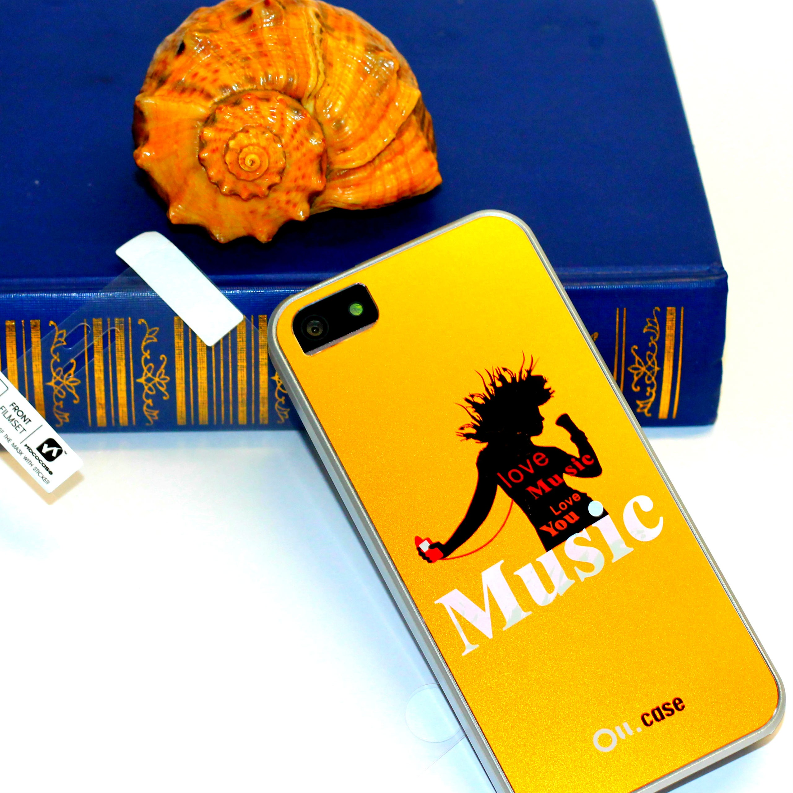 Ou.case Love Music for iPhone 5, black (OI-T001)